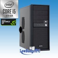PC4.6 Intel I5-10400 / Z490 / DVDRW / 500SSD / GT1030  / 8GbDDR4 / CR / 500W