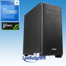 PC4.3 Intel I5-8400 / Z370 / DVDRW / 250SSD / GT1030  / 8GbDDR4 / CR / 500W