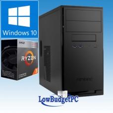 RA2.3 AMD Ryzen 3200G / H320 / DVDRW /SSD480 / CR / 8Gb-DDR4 / W10H