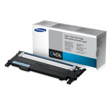Samsung CLT-C406S - Toner cartridge - 1 x cyaan - 1000 pages