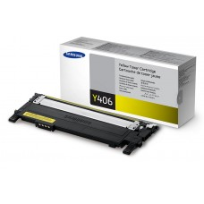 Samsung CLT-Y406S - Toner cartridge - 1 x yellow - 1000 pages