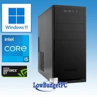 R3.3 Intel I5-11400F / H570 / DVDRW / 480SSD / GT1030  / 16GbDDR4 / CR / 500W / W10