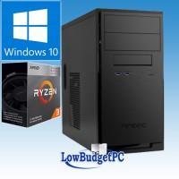 RA2.8 AMD Ryzen 2200G / H320 / DVDRW /SSD240 / CR / 8Gb-DDR4 / W10H