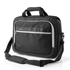 15/16 Notebook tas Luxe, zwart