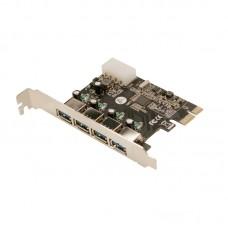LogiLink PCI Express kaart, 4x USB 3.0