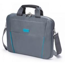 15.6 Dicota Slim Base Case, grijs/blauw