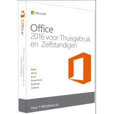 Microsoft Office Home and Business 2016  Medialess Dutch (NL)