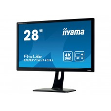 IIYAMA 4K-LED B2875UHSU-B1  1ms max. 3840x2160 VGA 2xHDMI DisplayPort hoogte verst.