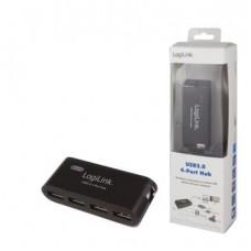 LogiLink 4 Port Hub, USB 2.0 actief