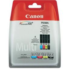 Canon CLI-551 Multipack BK/C/M/Y