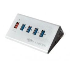 LogiLink 5 Port Hub, USB 3.0 actief