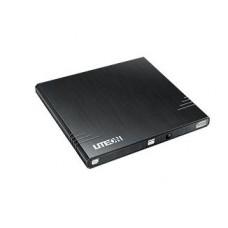 LiteOn Externe DVD RW SLIM, USB black eBAU108 8x8x/DL6x6x/RAM retail