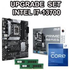 Intel  I7-8700 upgradeset Z370/i7/DDR4 8Gb