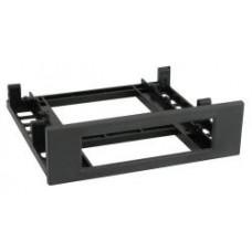 5.25 slot voor inbouw 3.5 inch, zwart